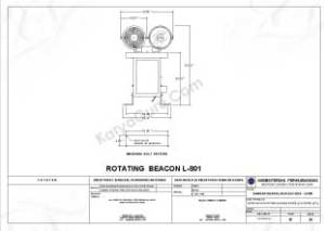 ROTATING BEACON SISTEM AIRFIELD LIGHTING (AFL) BANDAR UDARA