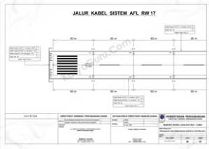 SITE PLAN RW 35 SISTEM AIRFIELD LIGHTING (AFL) BANDAR UDARA