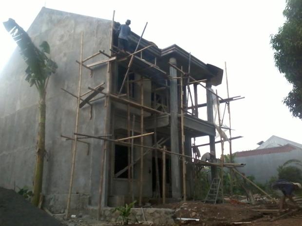Pelaksanaan Pembangunan Rumah 2 Lantai Cluster TownHouse Klasik