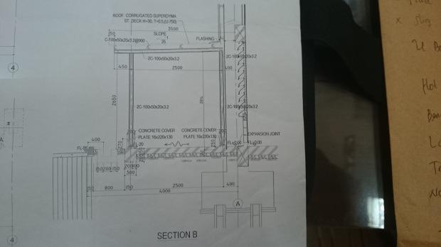 Shopdrawing AutoCAD StrukturBaja Pabrik