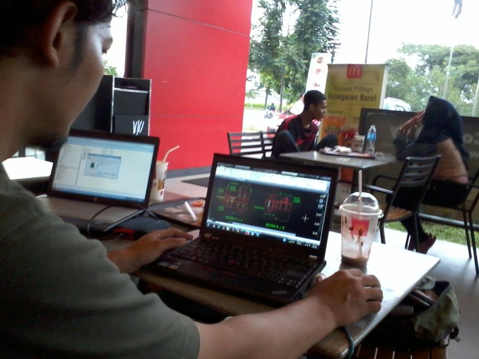 Training AutoCAD di McDonald's Jababeka II Cikarang Bekasi JawaBarat