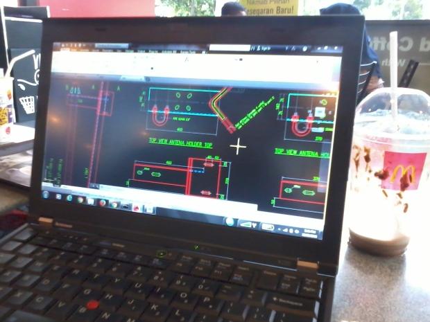 Training Belajar AutoCAD di McDonald's Jababeka II Cikarang Bekasi Jawa Barat