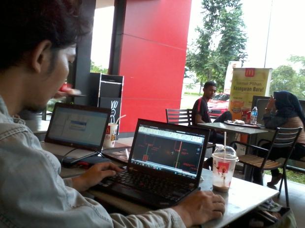 Training Les AutoCAD di McDonald's Jababeka II Cikarang Bekasi Jawa Barat
