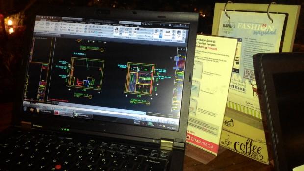 Training AutoCAD di Cafe Summarecon Mal Bekasi