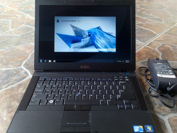Jual Laptop Dell Latitude E6410 + Install Revit
