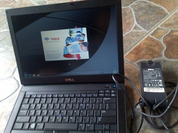 Jual Laptop Dell Latitude E6410 + Install Tekla