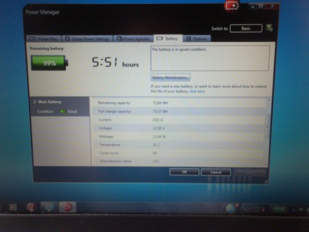 Jual Laptop DualBooting Hackintosh 10.11 Windows7 Baterai 9 Cell Lenovo Thinkpad X220