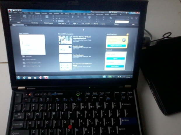 Jual Laptop Lenovo (IBM) Thinkpad X220 i5 HDD SSD 160GB RAM 4GB + Docking + AutoCAD - COD di Proyek Cikokol Tangerang