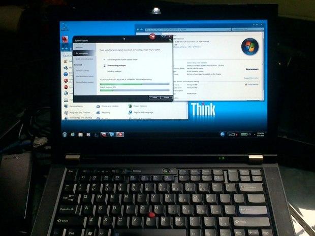 Jual Lenovo (IBM) Thinkpad T420 i5 + Update Driver - Kirim ke Gunung Kidul Wonosari Jawa Tengah