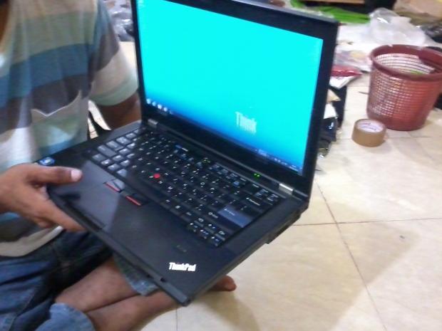 Jual Lenovo Thinkpad (IBM) T420 untuk Graphic Design Dual VGA - COD Bekasi