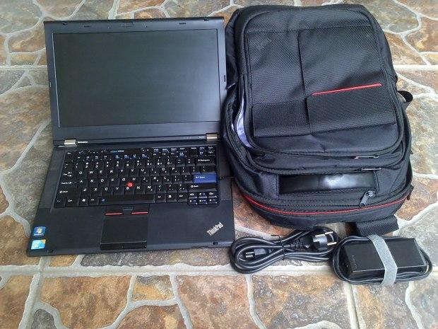 Jual Lenovo Thinkpad T420 i5 + Tas Backpacker Thinkpad original - Kirim ke Gunung Kidul Wonosari Jawa Tengah