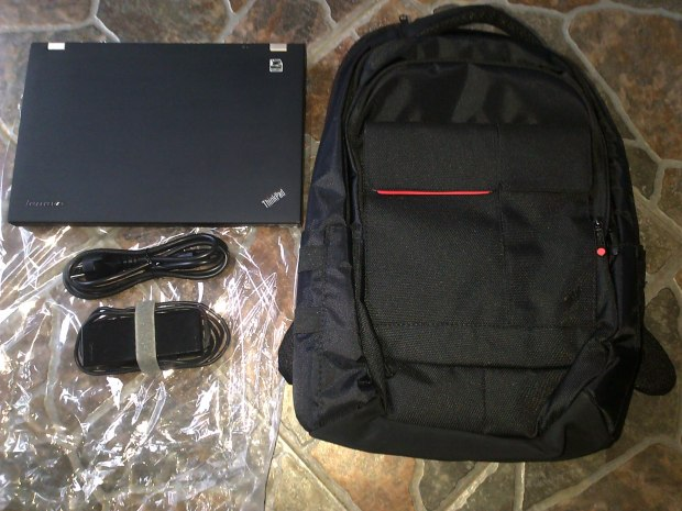 Jual Lenovo Thinkpad T420 + Tas Backpacker Thinkpad original - Kirim ke Gunung Kidul Jawa Tengah