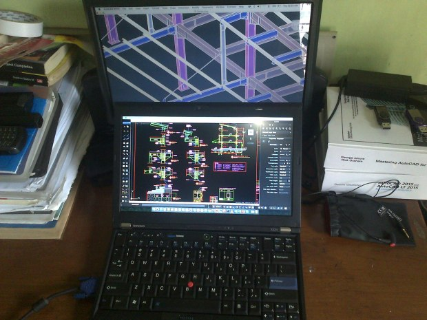 Jual Notebook Hackintosh El Capitan 10.11 VGA Extend Display External Working Lenovo Thinkpad X220