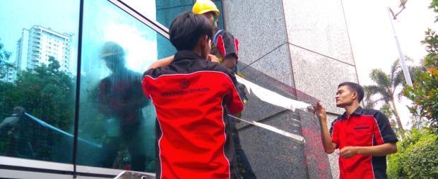 Jual Pasang Kaca Jendela Gedung SAFETY Keamanan Tinggi