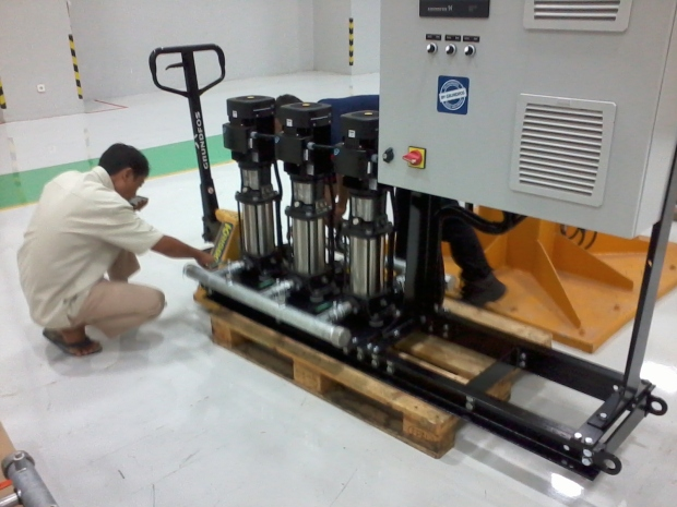 Training AutoCAD 3D Mechanical Booster Grundfos Pompa di Intirub Business Park Cililitan Halim
