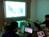 Training AutoCAD 3D Mechanical Booster Panel Grundfos Pompa di Intirub Business Park Cililitan Halim