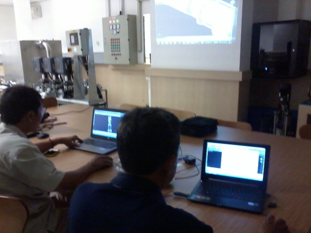 Training AutoCAD 3D Mechanical Grundfos Pompa di Intirub Business Park Halim