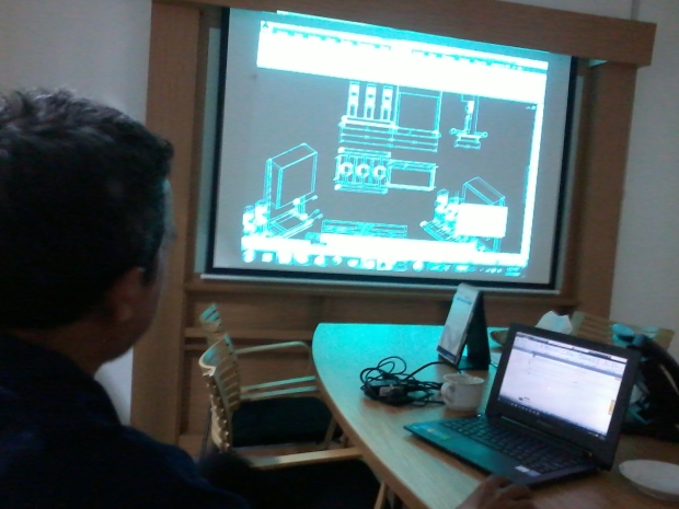 Training AutoCAD 3D Mechanical Part Grundfos Pompa di Intirub Business Park Cililitan Halim