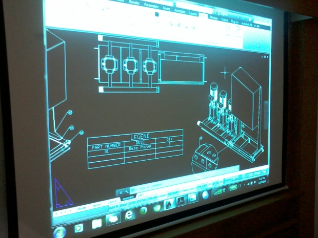 Training AutoCAD 3D Mechanical Parts Grundfos Pompa di Intirub Business Park Cililitan Halim