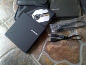 DVD-CD-RW External Lenovo Portabel + Softcase