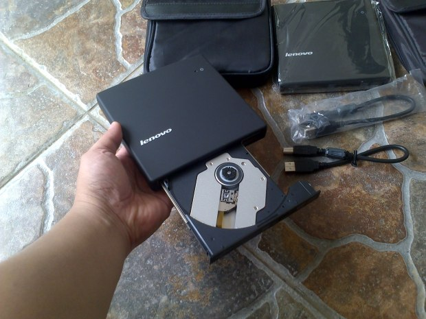 DVD-CD RW External Lenovo Portabel+Softcase