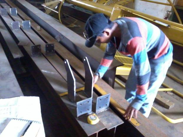 Fabrication Steel Construction - Office di Kawasan Industri Delta Silicon Cikarang