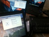 Jasa Modifikasi Install Hackintosh DualBooting Mac OSX Elcapitan : Yosemite + Windows 7 Professional Original Lenovo IBM Thinkpad X220