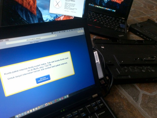 Jasa Modifikasi Install Hackintosh DualBooting Mac OSX Elcapitan : Yosemite + Windows 7 Professional Original Lenovo Thinkpad X220 Working Modem WWAN Internal