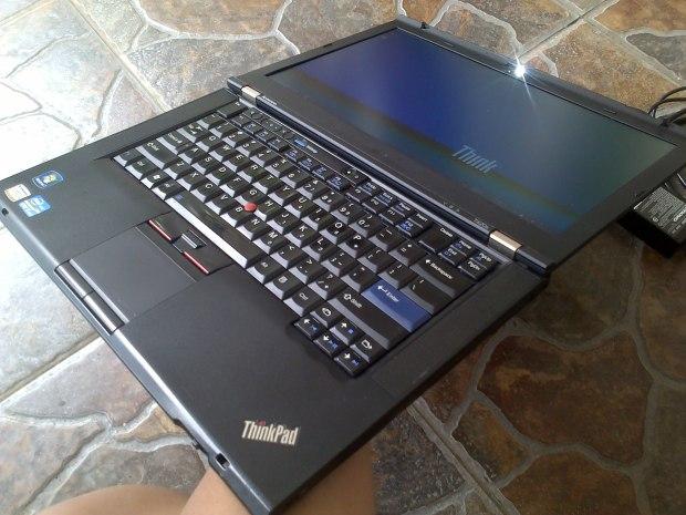 Jual Laptop Lenovo Thinkpad T420s i5 DualVGA NVidia + Intel HD Atas