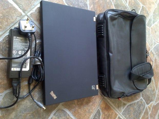 Jual Laptop Tas Lenovo Thinkpad W5100 i7 8CPU VGA NVIDIA QUADRO RAM8GB untuk Gamer Graphic Designer