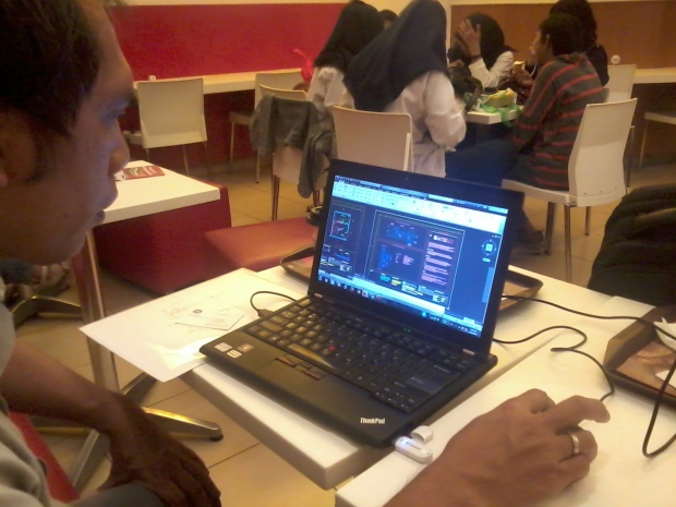 Kursus Private AutoCAD di McDonald Cinere Depok