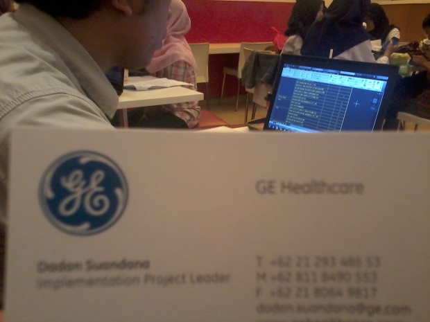 Kursus Private AutoCAD GE HealthCare di McDonald Cinere