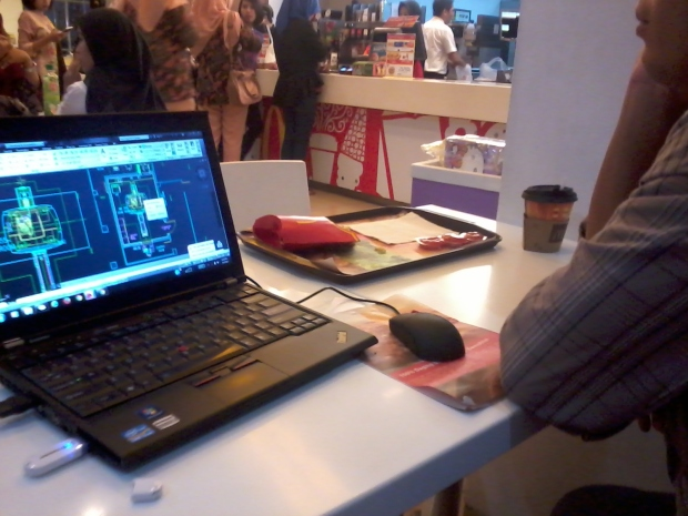 Kursus Private AutoCAD GeneralElectric HealtCare di McDonald Cinere