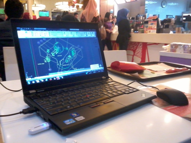 Kursus Private AutoCAD Isometric di McDonald Cinere
