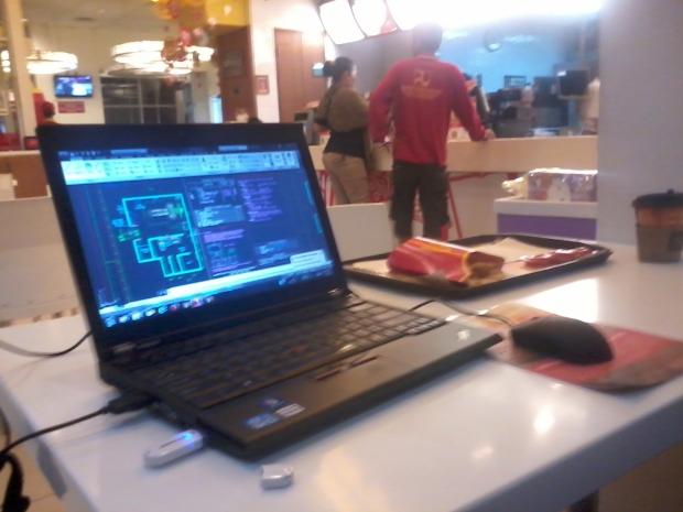 Kursus Private AutoCAD Layout Rumah Sakit di McDonald Cinere Depok