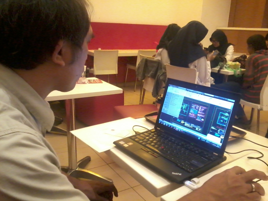 Kursus Private Plot AutoCAD di McDonald Cinere