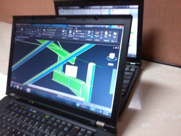ShopDrawing Steel Construction for Fabrication & Erection - Office di Delta Silicon Cikarang