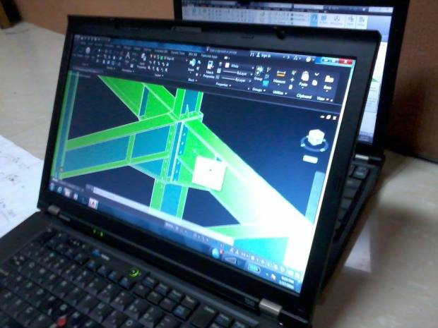 ShopDrawing Steel Construction for Fabrication & Erection - Office Kawasan Industri Delta Silicon Cikarang