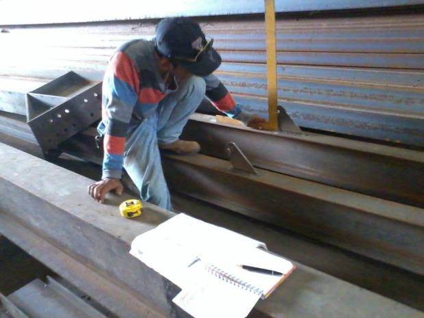 Steel Construction Fabrication Office di Kawasan Industri Delta Silicon Cikarang