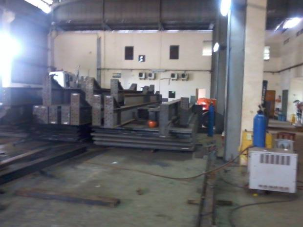 Steel Construction for Fabrication - Kawasan Industri Delta Silicon Cikarang