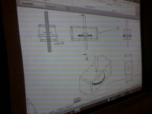 inHouse Training AutoCAD 3D Mechanical Engineering BreakDown 3D to 2D Kompas Gramedia Palmerah Jakarta