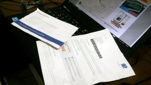 KaryaGuru Center - verification Code GoogleMyBusiness
