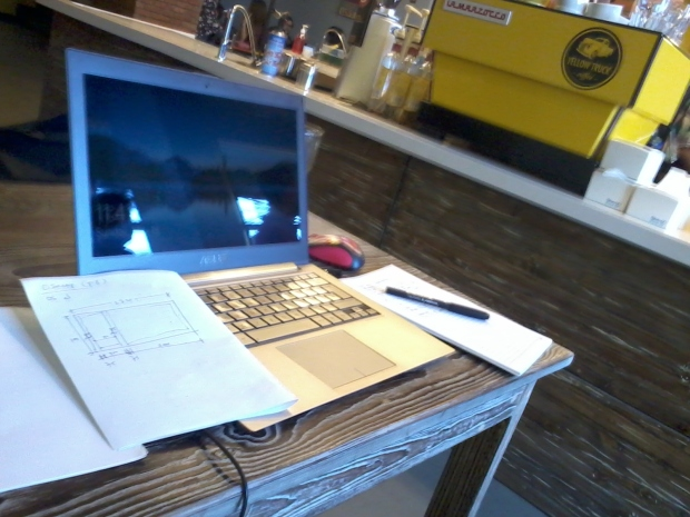 Kursus Private AutoCAD di Yellow Truck Coffee Margonda Depok Jawa Barat