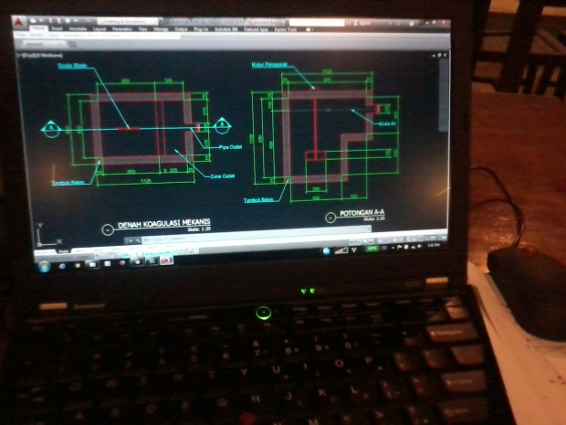 Kursus Private AutoCAD Materi Teknik Sipil di Zoe Cafe Margonda Depok Jawa Barat