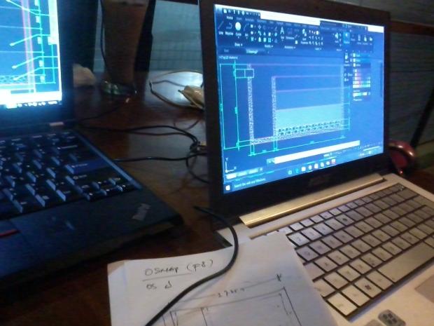 Kursus Private AutoCAD Teknik Sipil Bangunan Air di Zoe Cafe Margonda Depok Jawa Barat