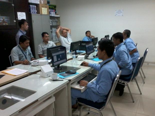 Pelaksanaan Training AutoCAD 3D materi Mechanical Engineering Kompas Gramedia Palmerah Jakarta