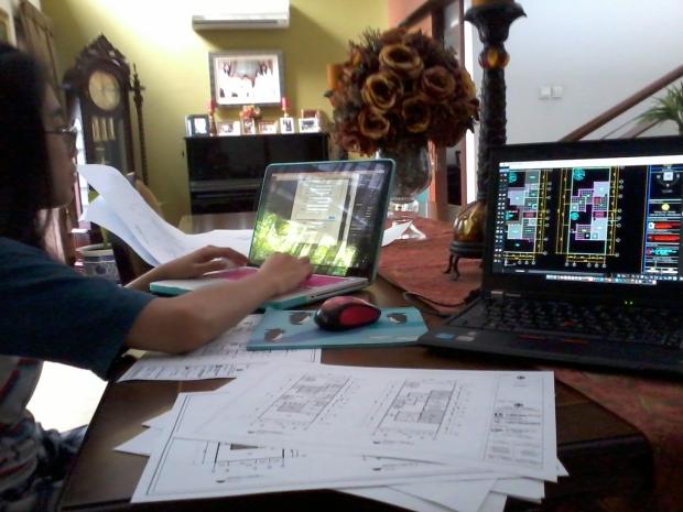 Belajar Setting Printout Kursus Private AutoCAD for Mac di Komplek ExTimah Pancoran Jakarta Selatan