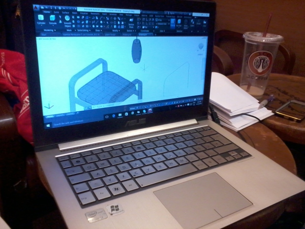 Kursus autocad 3D Furnture Interior di j.co margocity depok