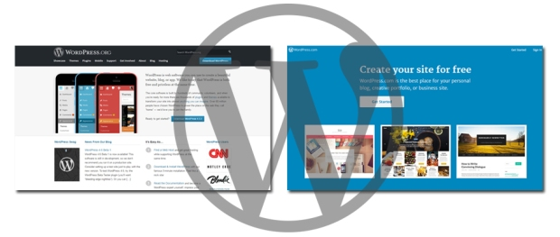 wordpress.org - wordpress.com