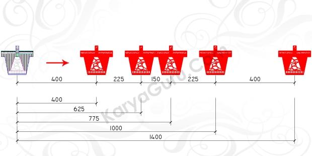 COPY PONDASI - Tutorial Belajar AutoCAD Gambar Kerja Potongan C-C Rumah Tinggal ShopDrawing Section